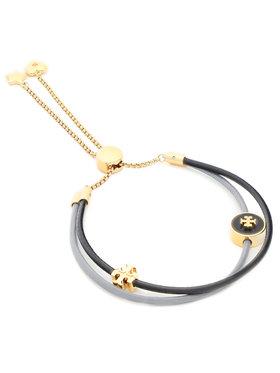 Tory Burch Tory Burch Βραχιόλι Kira Enamel Slider Bracelet 86248 Σκούρο μπλε
