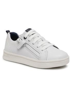 Geox Geox Sneakersy J Djrock B. D J925VD 08554 C1000 M Biały