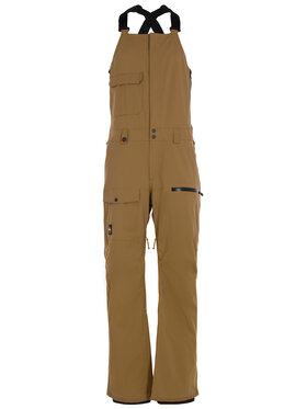 Quiksilver Quiksilver Spodnie narciarskie Utility EQYTP03120 Brązowy Regular Fit