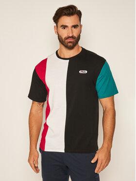 Fila Fila T-Shirt Bansi Blocked 687960 Kolorowy Regular Fit