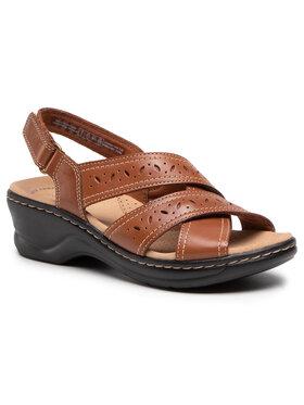 Clarks Clarks Sandále Leci Pearl 261583764 Hnedá