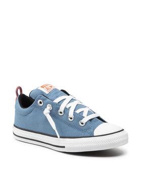 Converse Converse Plátěnky Ctas Street Slip 670721C Modrá