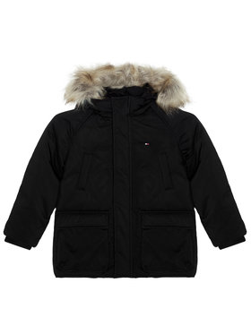 Tommy Hilfiger Tommy Hilfiger Giubbotto piumino Tech Parka KB0KB05996 D Nero Regular Fit