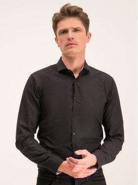 Hugo Hugo Риза Errik 50420868 Черен Extra Slim Fit