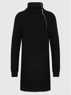 Liu Jo Liu Jo Úpletové šaty WF1423 MA51I Čierna Regular Fit