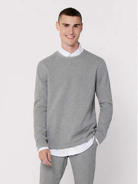 ONLY & SONS ONLY & SONS Pull Panter 22016980 Gris Regular Fit