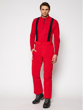 Descente Descente Pantalon de ski Icon S DWMQGD38 Rouge Tailored Fit