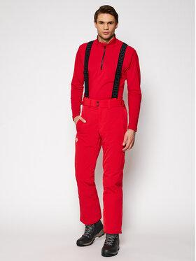 Descente Descente Spodnie narciarskie Icon S DWMQGD38 Czerwony Tailored Fit