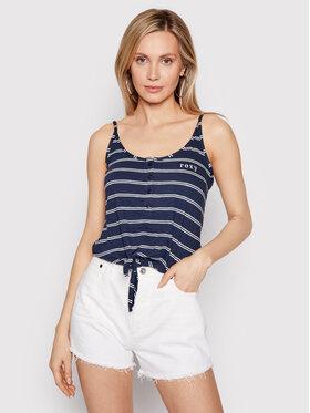 Roxy Roxy Top From Me To You ERJZT05178 Bleu marine Regular Fit