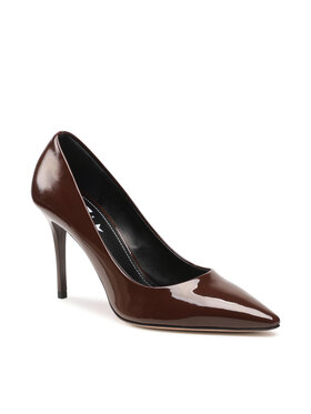 Marella Marella Pantofi cu toc subțire Ignaro 65260115200 Maro