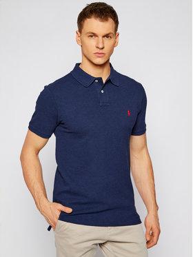 Polo Ralph Lauren Polo Ralph Lauren Тениска с яка и копчета Classics 710536856265 Тъмносин Slim Fit