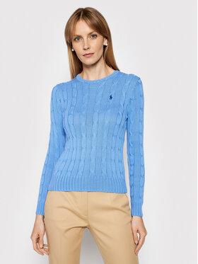 Polo Ralph Lauren Polo Ralph Lauren Pulover Lsl 211580009091 Albastru Regular Fit
