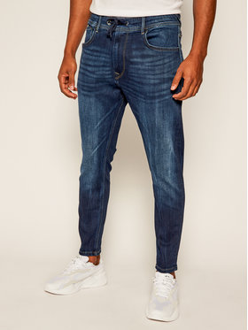 Pepe Jeans Pepe Jeans Džínsy Johnson PM204385 Tmavomodrá Relaxed Fit