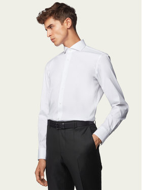Boss Boss Košile Jason 50260064 Bílá Slim Fit