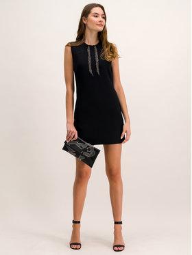 Pinko Koktejlové šaty AI 19-20 BLK01 1G13EY 7642 Čierna Slim Fit