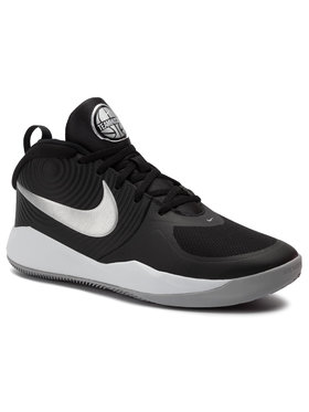Nike Nike Boty Team Hustle D 9 (Gs) AQ4224 001 Černá