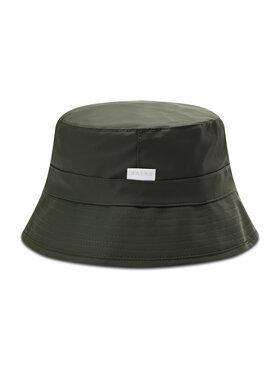 Rains Rains Текстилна шапка Bucket Hat 2001 Зелен