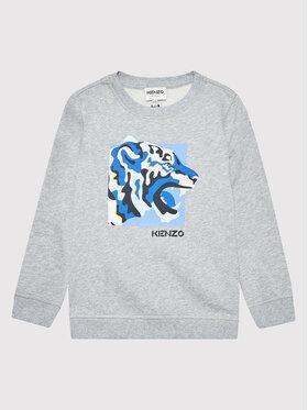 Kenzo Kids Kenzo Kids Pulóver K25152 Szürke Regular Fit
