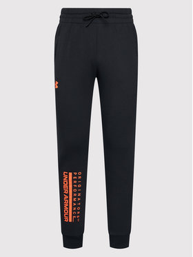 Under Armour Under Armour Παντελόνι φόρμας Apollo Sportstyle 1360731 Μαύρο Loose Fit
