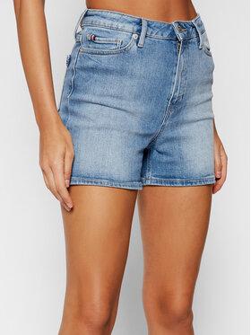 Tommy Hilfiger Tommy Hilfiger Szorty jeansowe Rome Straight WW0WW30529 Niebieski Slim Fit