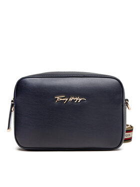 Tommy Hilfiger Tommy Hilfiger Geantă Iconic Tommy Camera Bag AW0AW10292 Bleumarin