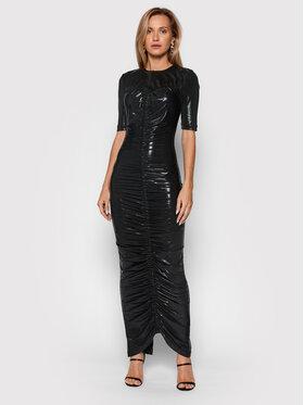 ROTATE ROTATE Večerné šaty Abigail Dress RT623 Čierna Slim Fit