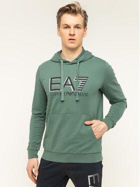 EA7 Emporio Armani EA7 Emporio Armani Μπλούζα 3HPM62 PJ05Z 1858 Πράσινο Regular Fit