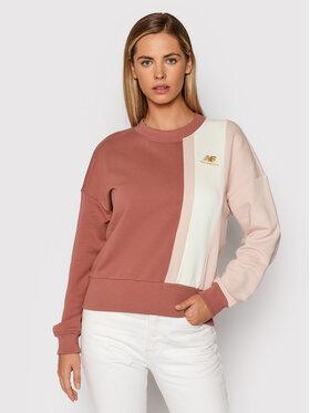 New Balance New Balance Bluza WT13500 Różowy Oversize