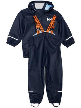 Helly Hansen Helly Hansen Set geacă de ploaie și pantaloni Moss 40384 Bleumarin Regular Fit