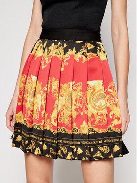 Versace Jeans Couture Versace Jeans Couture Fustă plisată A9HWA319 Negru Regular Fit