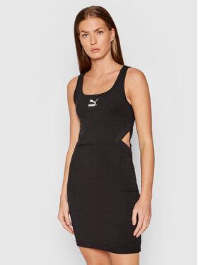 Puma Puma Повсякденна сукня Pbae 532565 Чорний Slim Fit