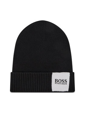 Boss Boss Шапка Arebo_Beanie 50435476 Черен