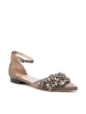Custommade Custommade Sandale Mathilda Crystal 212632039 Smeđa