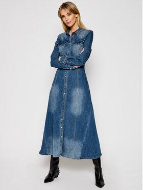 My Twin My Twin Sukienka jeansowa 202MP2470 Niebieski Slim Fit