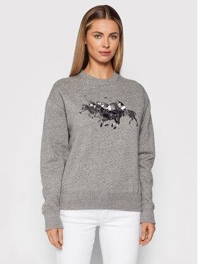Polo Ralph Lauren Polo Ralph Lauren Sweatshirt Lsl 211842217001 Gris Relaxed Fit