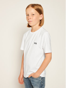 Boss Boss Marškinėliai J25P14 S Balta Regular Fit