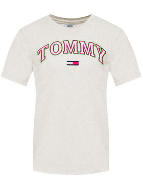 Tommy Jeans Tommy Jeans T-shirt Neon Collegiate DW0DW07540 Grigio Regular Fit