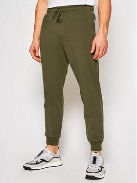 Guess Guess Teplákové nohavice M1RB37 K6ZS1 Zelená Slim Fit