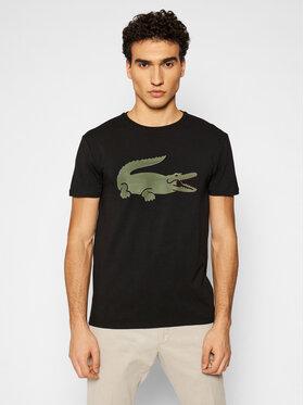 Lacoste Lacoste T-shirt TH0139 Noir Slim Fit
