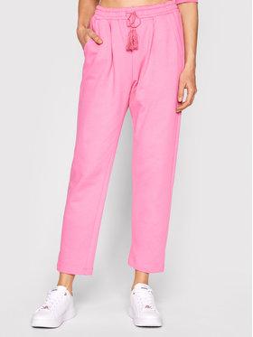Imperial Imperial Teplákové nohavice P1O7BAY Ružová Regular Fit