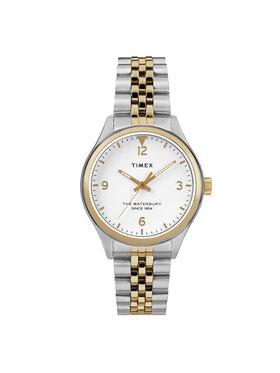 Timex Timex Sat Waterbury TW2R69500 Srebrna