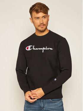 Champion Champion Sweatshirt Script Logo 215211 Noir Custom Fit