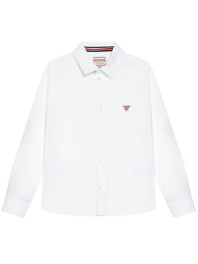 Guess Guess Koszula L1RH07 W9CL0 Biały Regular Fit