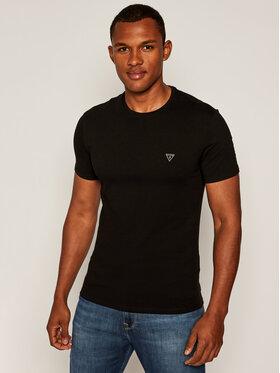 Guess Guess T-Shirt Core M81I32 J1300 Czarny Super Slim Fit
