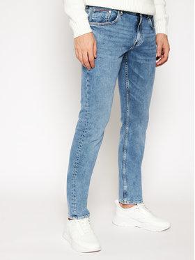 TOMMY HILFIGER TOMMY HILFIGER Jeansy Straight Fit Denton MW0MW15947 Niebieski Straight Fit