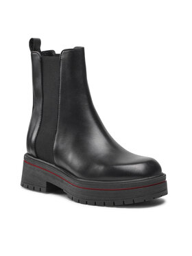 Wojas Wojas Členková obuv s elastickým prvkom 55045-51 Čierna