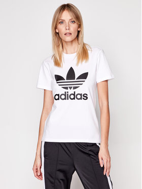 adidas adidas T-Shirt adicolor Classics Trefoil GN2899 Weiß Regular Fit