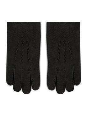 Strellson Strellson Pánske rukavice 3190 Čierna