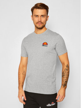 Ellesse Ellesse T-Shirt Canaletto SHS04548 Šedá Regular Fit