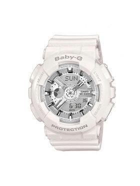 Baby-G Baby-G Часовник BA-110-7A3ER Бял